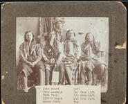 John Moore, John Louwalk, Waru Walk, Little Eagle, and Moses Pratt