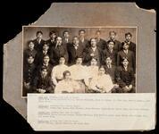 Pawnee group including Eagle Chief, Stacy Matlock, Edgar Moore, James H. Blaine, et al.