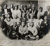 Unidentified Osage group, photograph of Framed picture.