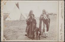 Kiowa girls at Fort Sill