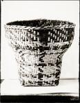 Large Hamper Basket of Oak or Hickory