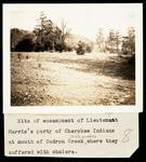 Lt. Harris's Camp with Cherokee at Caldron Creek, Arkansas