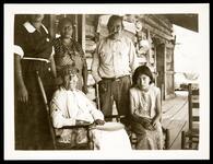 Cherokee Family on Porch