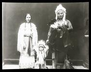 Ema haw' and/or a Rescuer and wife and child (aka Delace K. Lone Wolf and son, Theodore Roosevelt Lone Wolf