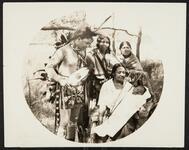 Eugene Standing Bear and family