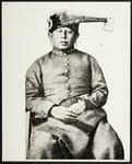 Unidentified Osage man with hat