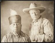 Chief Bacon Rind and Pawnee Bill