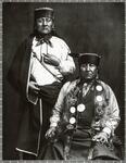 Two unidentified Osage men