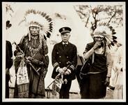 Crazy Bear, John Phillip Sousa, and Horse Chief Eagle