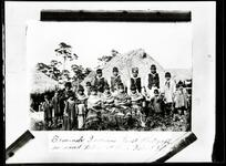 Seminole Indians, first photograph on record taken at Pine Island, Florida