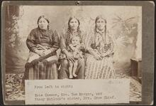 Kate Caesar, Mrs. Tom Morgan, and Stacy Matlock's sister, Mrs. Crow Chief