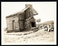Sequoyah's log cabin