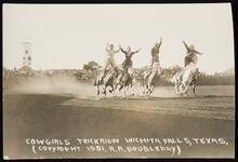 Cowgirls Trick Ridin, Wichita Falls, Texas