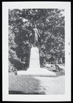 Photo of bronze statue of Pocahontas