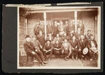 Delegation of Comanche. Kiowa, and Apache, including Quanah Parker