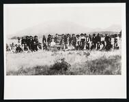 The Kiowa-Comanche Council at Mount Scott with Quanah Parker
