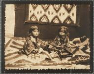 Unidentified Navajo children