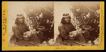 Unidentified Native American Woman and baby