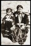 Navajo mother and daughter, Arizona