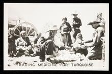 Trading medicine for turquoise