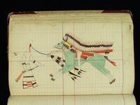 Fort Reno Ledger Drawing
