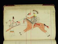 Fort Reno Ledger Drawing