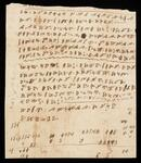 Document in Cherokee language