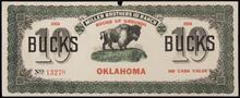 101 Ranch $10 Bill