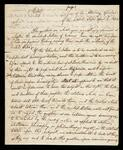 Letter of Opinion from Attorney General of the United States William Wirt to John C. Calhoun, Secretary of State