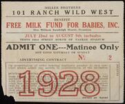 """""""Milk Fund"""" 101 Ranch Ticket"""