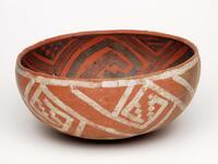St. Johns polychrome ceramic bowl