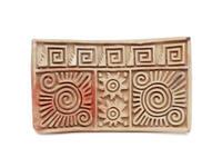 Ceramic stamp (sello)