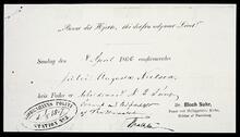 Letter to Mildred D. Ladner regarding census data concerning her parents, Olaf Seltzer, and his mother