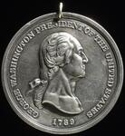 Silver George Washington Presidential medal