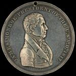 James Monroe peace medal, 3rd size