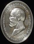 James Garfield peace medal