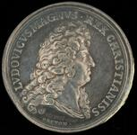 King Louis XIV peace medal