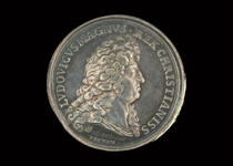 King Louis XIV peace medal