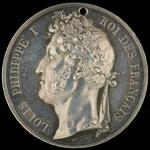 King Louis Philippe donative medal