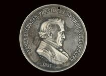 James Buchanan peace medal, 2nd size