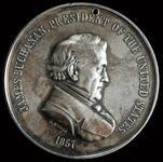 James Buchanan peace medal, 2nd size