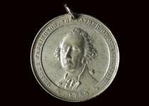 Imitation George Washington peace medal