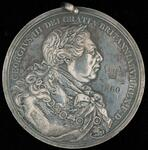 King George III silver peace medal
