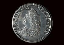 King George II silver peace medal
