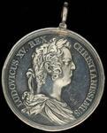 "Louis XV silver peace medal of ""Honos et Virtu"" type"