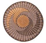 Third Mesa wicker basketry plaque