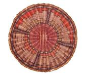 Third Mesa wicker basketry plaque