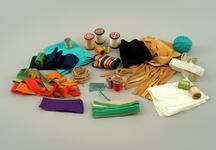 Parts of a dance repair kit