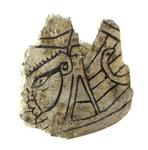 Incised gorget fragment