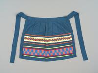 Cotton patchwork child's apron